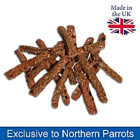 Parrot Cafe Winter Warmer Chilli Sticks Parrot Treats - 100g