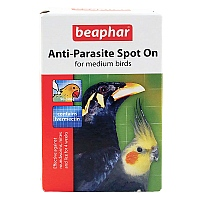 Anti-Parasite Spot On - Cockatiels, Conures, Senegals etc