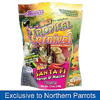 Brown`s Fruit & Nut Carnival Large Parrot Treat Mix 340g