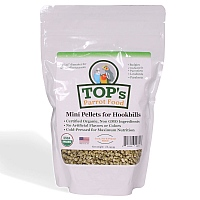 TOP`s Organic Parrot Food - Mini Pellets