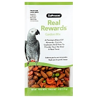 ZuPreem Real Rewards Garden Mix for Large Parrots 6oz