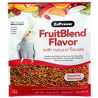 ZuPreem FruitBlend Medium - Complete Food for Cockatiels