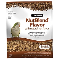 ZuPreem NutBlend Medium - Complete Parrot Food