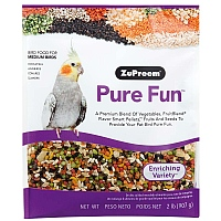 ZuPreem Pure Fun Medium - Enriching Medium Parrot Food