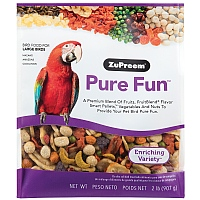 ZuPreem Pure Fun Large - Enriching Large Parrot Food