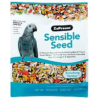 ZuPreem Sensible Seed with Smart Pellets for Med/Lrg Parrots