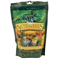 Lafeber NutriBerries Tropical - Sm Parrot & Cockatiel 300g