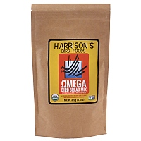 Harrison`s Bird Bread Mix Omega Organic Parrot Treat