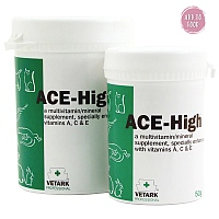 ACE-High Powdered Vitamin Supplement for Pet Birds & Parrots