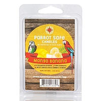 Parrot Safe Wax Melts - Mango Banana