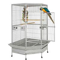 Raleigh Large Solid Top Corner Parrot Cage