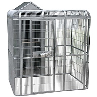 Parrot Aviary with Housing Area
