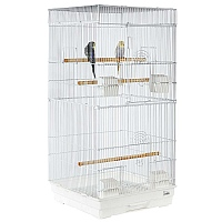 Jing Tall Flat Top Small Bird Cage